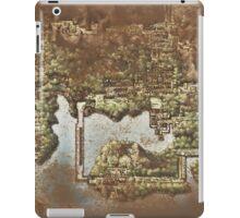 Distressed Maps: Pokemon Kanto iPad Case/Skin