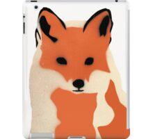 Winter fox iPad Case/Skin