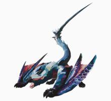 Nargacuga - Monster Hunter by Missajrolls