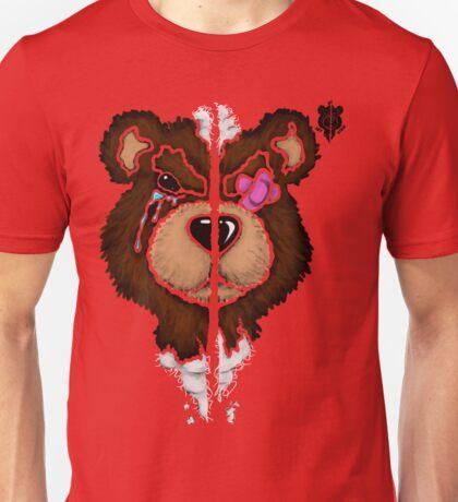 (Stencil) Damaged Teddy  Unisex T-Shirt