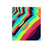 Playing with Patterns Art Print