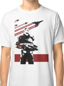 N7- Commander Shepard (Male) Classic T-Shirt