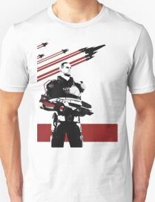 N7- Commander Shepard (Male) Unisex T-Shirt