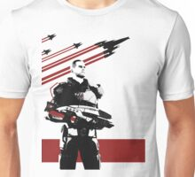 N7- Commander Shepard (Male) Unisex T-Shirt
