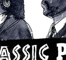 Jurassic Pulp Official T-Shirt (Jurassic Park / Pulp Fiction) Sticker