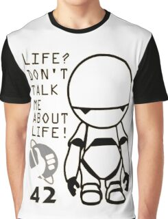 Marvin - The Hitchhiker's Guide to the Galaxy Graphic T-Shirt