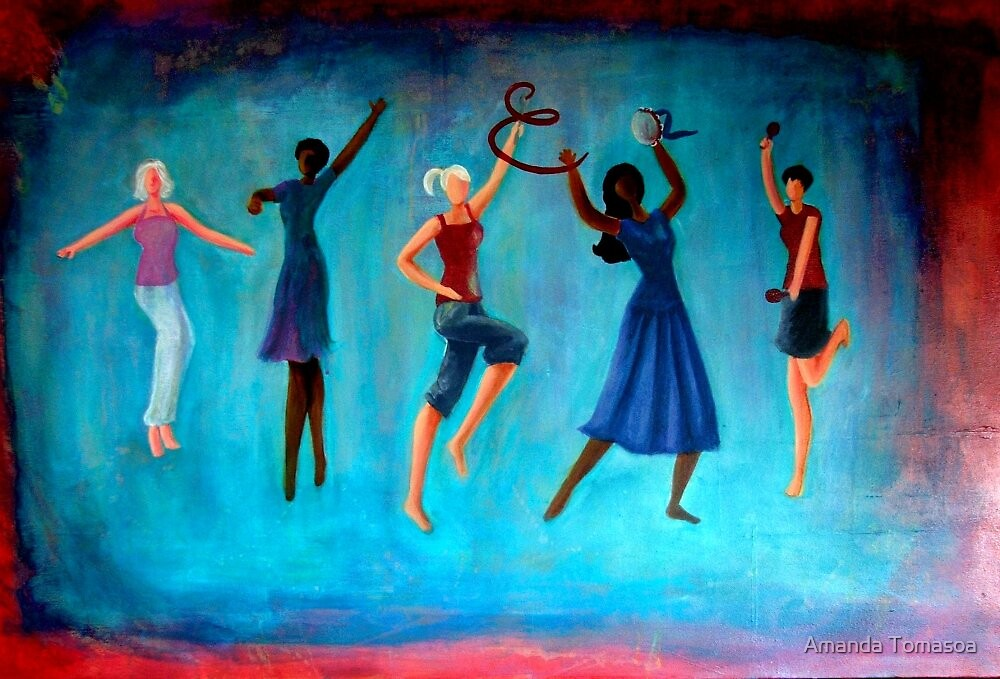Dance sistas dance! by Amanda Tomasoa