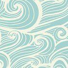 Wave Swirl Pattern  by SKEWJACK