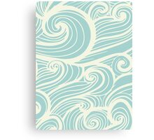 Wave Swirl Pattern  Canvas Print
