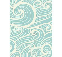 Wave Swirl Pattern  Photographic Print