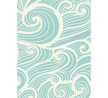 Wave Swirl Pattern  Photographic Print