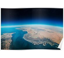 Earth view Poster