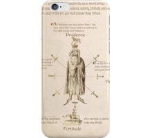 Fiore dei Liberi Getty Segno (English) iPhone Case/Skin