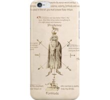 Fiore dei Liberi Getty Segno (English) iPhone Case/Skin
