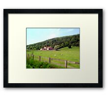 Yorkshire Tilt Shift Framed Print