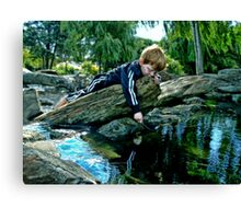 Flat out Fishin' Canvas Print