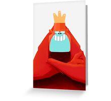 MONKEY KING Greeting Card