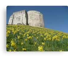 Cliffords Tower York Canvas Print