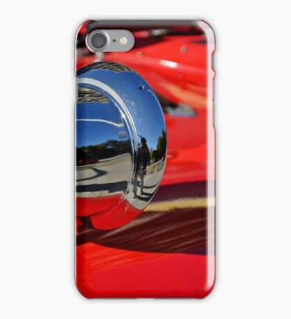 Reflection in Chrome iPhone Case/Skin