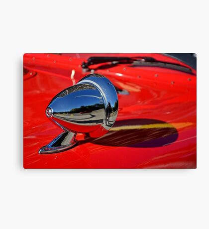 Reflection in Chrome Canvas Print
