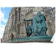 King Constantine and the Minster Poster