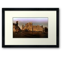 York minster in the wide Framed Print