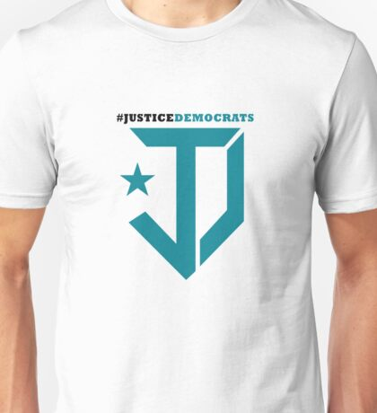 Justice Democrats Hash Tag Unisex T-Shirt