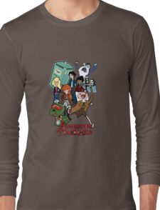 Adventure Time-Lord Number Ten Long Sleeve T-Shirt