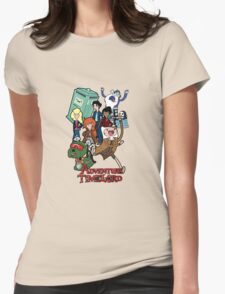 Adventure Time-Lord Number Ten Womens Fitted T-Shirt