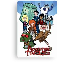 Adventure Time-Lord Number Ten Canvas Print