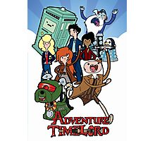 Adventure Time-Lord Number Ten Photographic Print