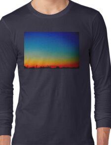 Spectrum Sunset in Norfolk, UK. Long Sleeve T-Shirt