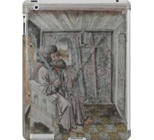 Portrait of Johannes Liechtenauer iPad Case/Skin