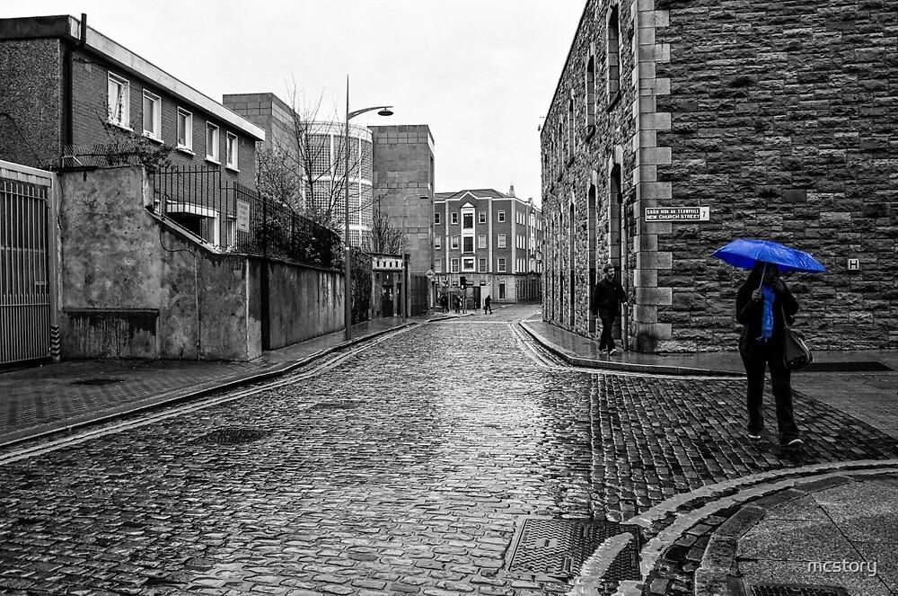 The Blue Umbrella - SC by Mary Carol Story
