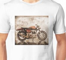 'Enjoy the Ride' Classic Motorcycle Unisex T-Shirt
