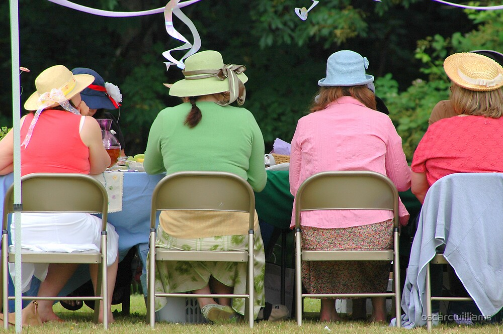 Afternoon Tea Party by oscarcwilliams