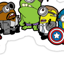 Minions Assemble Sticker