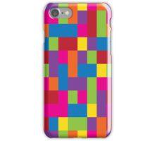 Rainbow Blocks iPhone Case/Skin