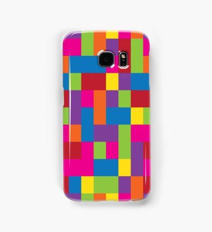 Rainbow Blocks Samsung Galaxy Case/Skin
