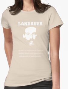 Landauer: The State, Revolution. Womens Fitted T-Shirt