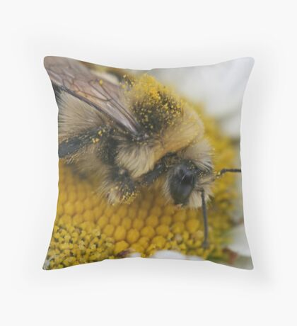 Searching for Pollen Throw Pillow