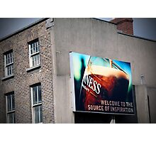 Dublin Billboard Photographic Print