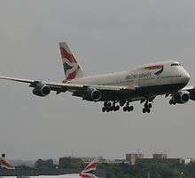 British Airways 747 by epc2007