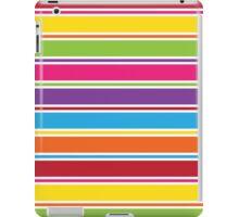 Stripey Colours iPad Case/Skin
