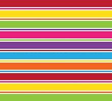 Stripey Colours by ArtfulDoodler