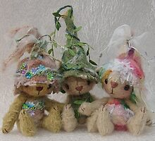 Forest Bears from Teddy Bear Orphans by Penny Bonser