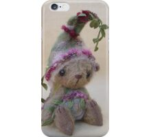 Dewy, a bear from the woods from Teddy Bear Orphans iPhone Case/Skin