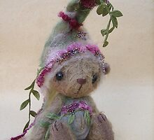 Dewy, a bear from the woods from Teddy Bear Orphans by Penny Bonser