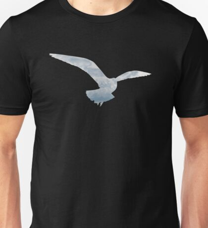 Seagull and Clouds I  Unisex T-Shirt