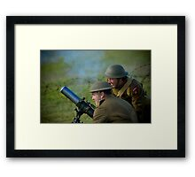 Mirth and a Mortar Framed Print